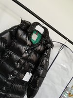 Chaqueta de moda extendida de moda y23 Velvet blanco acolchado anti-taladrado Chaqueta de tela ocasional súper cálida maya chaqueta con capucha W09232215