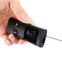 2020 Nuevas actualizaciones Mini Láser Gama de láser 40M Medidor de distancia láser Profesional Cinta láser Ruleta Medir METRO RANGEFINDER T200603