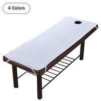 4 Sizes Massage Table Bed Sheet Non- Slip SPA Treatment Bed C...