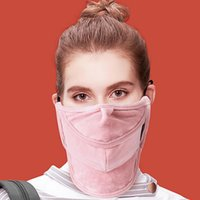 Kış Yüz Kadife Ağız Windproof Kış Binicilik Sokak Shot Moda Ağız Kapak Tasarımcısı Maskeler Maske Maske Isınma IIA760