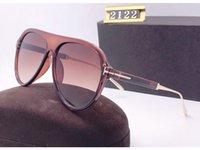 2020 New Freizeit Persönlichkeit Sonnenbrille für einen Mann eine Frau Brillen tom Designer-Sonnenbrillen UV400 ford Fashion Outdoor-Sonnenbrille 2122 mit Kasten