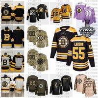 2021 Retro Retro Personalizar 55 Jeremy Lauzon Boston Bruins Hóquei Jersey Edição Dourada Camo Veterans Dia Luta Cancer Roxo Camisa Personalizada