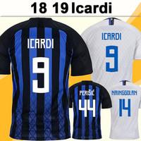 18 19 Icardi Perisic Soccer Jersey Brozovic J. Mario Skriniar Home Away 3rd Mens Camicie da calcio Candreva D'Ambrosio Nainggolan Lautaro
