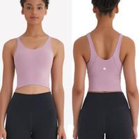 Kadının Yoga Spor Sutyeni Bodybuilding Tüm Maç Rahat Spor Push Up Sütyen Yüksek Kaliteli Kırpma Kapalı Açık Egzersiz Giyim Tops L-45