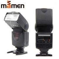 Mamen KM-680 Höchstlicht-Kamera-Flash-Licht 5600K LED-Lampe mit Fülllicht für DSLR 5D2 60D 70D D5300 D7200 Das Flash1