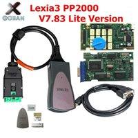 Lexia المهنية for / peugoet lexia3 pp2000 أحدث diagbox v7.83 psa xs lexia-3 الذهبي pcb متعدد اللغات شحن مجاني 1