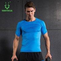OEM Hommes Compression Chemises Courtes à manches courtes Collants Collants Fitness Cyclisme Exécution rapide Sec Superbale Spandex Sports T-shirts1
