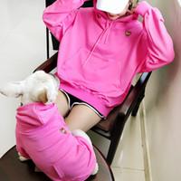 التطريز الأسرة الحيوانات petbull معطف سترة الملابس الصغيرة المتوسطة هوديي قميص للنساء الكلب منامة T200710