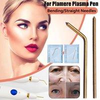 10 قطع النحاس الانحناء / الإبر مستقيمة ل plamere البلازما القلم آلة الجمال بقعة خلع التجاعيد إزالة البلازما الوجه رفع