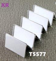 Carte vierge PVC de RFID imprimable 125KHz T5577, carte brillante T5577 T5577 RFID pour le contrôle d'accès à l'hôtel 500pcs