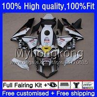 molde de injeção para Honda CBR 600RR 600F5 600cc 600 RR F5 03 04 49HM.134 CBR600RR 2003 2004 CBR600F5 CBR600 RR 03 Branco preto 04 Fairing kit