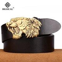 BigDeal мужская натуральная кожаный ремень дизайнер ремни мужские роскошный ремешок мужские ремни для мужчин мода булавка пряжка для джинсов Y200520