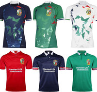 2020 2021 National Rugby League Britannique et irlandaise Lions de rugby Jersey Shirt Nations Lions Rugby Polo Chemise S-3XL Lions Red Pro Jersey 20/21