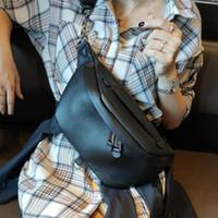 Taille Taschen 100% Echtes Leder Gürteltasche Packungen für Frauen Designer Schulter Damen Weibliche Bum Fanny Pack Bumbgag