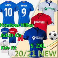 Getafe CF Futebol Jerseys Bar 2020 2021 Camisetas de Fútbolangel Mata Maksimovic Cucurella Etxeita Unal Kit Kit Futebol Camisa Uniforme