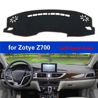 Car Dashboard Cover Carpet for Zotye Z700 LHD Accessories Polyester Fiber Auto Dash Board Protective Mat Light Car Pad1