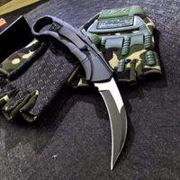 Soulbringer Auto Pençe Karambit Çift Eylem Taktik Otomatik Oto Cep Katlanır EDC Bıçak Kamp Bıçak Avcılık Bıçaklar Noel Hediye A3138