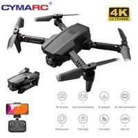 Cymarc XT6 Mini DRONE 4K HD-Kamera 1080P Wifi FPV-Kamera-Drohne RC-Drohne Halten Faltbare RC-Quadkopter DRON M73 KF611 201103