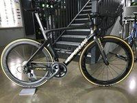 الذهب cipollini nk1k الكربون الطريق كامل الدراجة مع 5800 / ultegra r8000 groupset ffwd bob الكربون العجلات