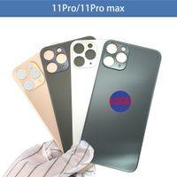 Ursprüngliches großes Lochrückglas für iPhone 8 x XR xs Max 11PRO MAX Batterieabdeckung hintere Tür Gehäuseteile Ersatz