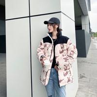 des femmes vers le bas coût 20FW hiver nouveau style de conception couture camouflage trois feuilles d'impression haute veste pour hommes chauds qualité manteau de duvet Taille M-2XL-