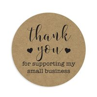 Thank You For Supporting My Small Business Stickers Seal Lab...