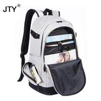 Unisex School Bag Impermeabile Oxford Tessuto Scolastica Business Uomini Donne Zaino Backpack Computer Casual Travel Packsack ad alta capacità1