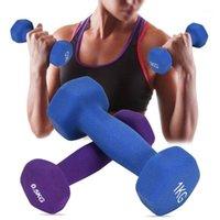 Haltères mate rack supports titulaires de haltérophilie Set Ensemble Home Fitness Equipment Equipment Poids pescons manuels amincissant Dumbbell Set1