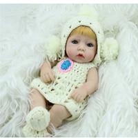 Niños Mini Juguetes 28 cm Silicone Reborn Baby Doll Bath Girls Bath Playmate Realistic Babies Niño Sorpresa Regalo