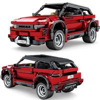 2020 новый технический автомобиль внедорожник внедорожник Evoque Supercar строительные блоки комплект кирпичи создатель классическая модель детские игрушки для детей подарки X0102