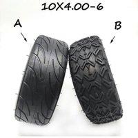 10x4.00-6 pneu d'aspiration sans chambre à tubes pour pneu pour équilibrage électrique Scooter 10 * 4.00-6 pneu caoutchouc épais pour mini moto1