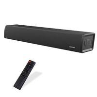 TV için Soundbar, Ev Sineması Sistemi 2.0 Kanal Dahili Subwoofer, Kablolu Kablosuz Bluetooth Hoparlör 5.0 Ses Barları TV, Telefon, Ev