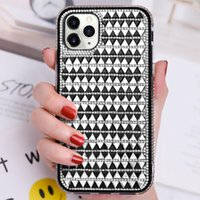 IPhone 11 case New design triangular glass double drill for iPhone X7   8