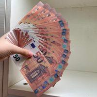 Высокая денежная заготовка ROPS 07 Доставка ЕВРО Качество Деньги Притворись Быстро фальшивая Евро сказал