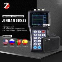 휴대용 핸드 헬드 디지털 스트로라지 오실로스코프 JDS6031 JDS6052S 신호 생성기 2ch 50m 200msa / s 러시아 포르투갈어 5 개 언어 1