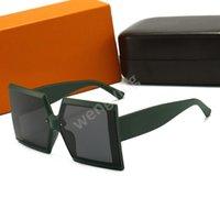 선글라스 Carvan 모델 최고 품질의 실제 UV400 유리 렌즈 남자를위한 여자 음영 태양 안경 모든 패키지, 액세서리, 모든 것