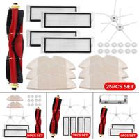 25/19/7 / 6PCS Piezas de aspiradora Cepillo principal Hepa Filtro Cepillo lateral para Roborock S6 S60 S65 S5 MAX T6 ROBOT1