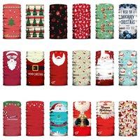 Yetişkin Noel Yüz Shield Fonksiyonlu Sihirli Turban Önlüğü Noel Baba toz geçirmez ve Pus Açık Binme Yüz Maskesi XD24049 yazdır