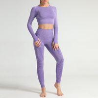 Autunm Kış Moda Tasarımcısı Bayan Pamuk Yoga Takım Gymshark Sportwear Eşofmanlar Fitness Spor Beş Parça Set 5 adet Sutyen Tayt Kıyafetler