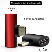 USB نوع C إلى 3.5 ملليمتر سماعة جاك محول شاحن الهاتف شحن كابل شحن لهواوي P20 / ماتي 10 / محول برو aux الصوت سماعة رأس