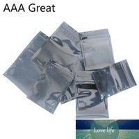 50Pcs Lot Antistatic Aluminum Storage Bag Bags Resealable Anti Static Pouch for Electronic Accessories Package Bags Gift