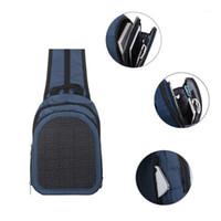 Waterdichte Zonnepaneel Rugzak Handige Opladen Laptoptas Grote Capaciteit Daypack Zakelijke Reizen Solar Charger Daypacks1
