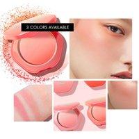 Kiss Beauty Onle Color Faceher Blusher Powder Натуральный красочный градиентная щетка палитра минеральный пигментный контур макияж косметика 4 цвета