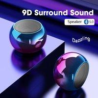 TWS portable mini haut-parleurs Bluetooth TWS Son sans fil Boombox Boombox puissant Bass Haut-parleur stéréo Subwoofer Accueil Théâtre Home Théâtre Sports Haut-parleurs