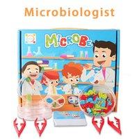 ألعاب الألعاب المختبر ألعاب ميكروبات جنون العلماء العلم والتكنولوجيا الصغيرة صنع الأطفال التعليمية