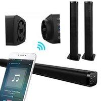 Soundbar Bluetooth Disaccatabile Surround Sound System con subwoofer Soundbar, relatori domestici cablati e wireless