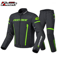 Veste de moto coupe-vent Veste de protection Hommes Racing Motocross Motocross Riding Jacket Pantalon Pantalon Vêtements Set Étanche 13