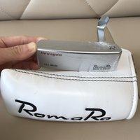 Romaro Sechseck Putterkopf Geschmiedet Kohlenstoffstahl CNC MIRED Brand Golf Clubs Putters Sport Outdoor (Preis ist Kopf + Kopfbedeckung ohne Welle)