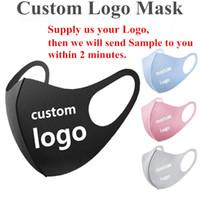 DIY Пользовательские логотип маски Персонализированные анти пыли Face Хлопок маски для велотуристов Отдых Путешествия Анти Хлопок Многоразовые дизайнер Маска DHL Доставка