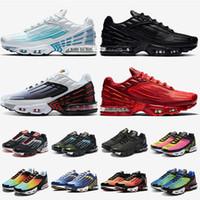 zapatos Nike Air Max tn 3 tn plus 3 tuned zapatos para correr para mujer para hombre láser azul púrpura gris negro rojo blanco zapatillas deportivas